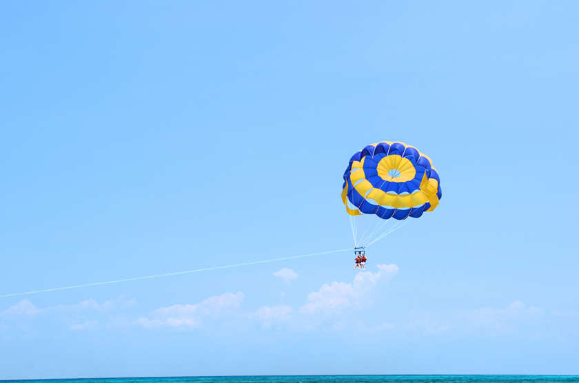 Parasailing Flight